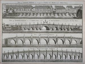 London Bridges, 1760
