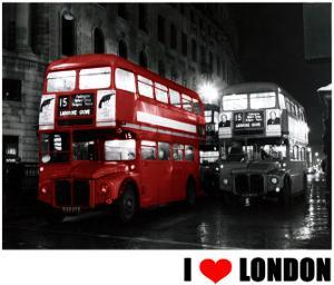 London Bus Red, I Love London