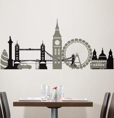 London Calling Wall Art Kit
