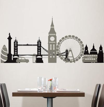 London Calling Wall Art Kit