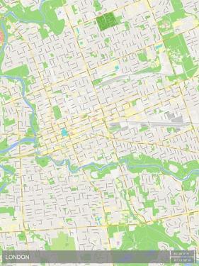 London, Canada Map
