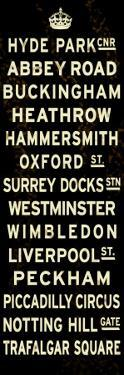 London Crown Sign