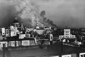 London During Blitz, September 1940