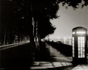 London Embankment At Night