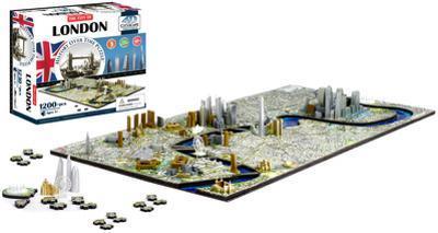 London, England 4D Puzzle