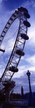 London Eye, Big Ben, London, England