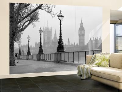 London Fog Wall Mural. Wallpaper Mural Part 38
