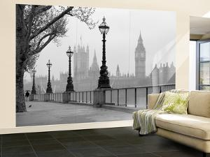London Fog Wall Mural