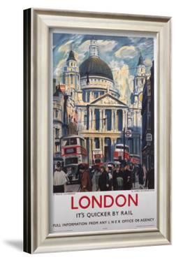 London, It's Quicker by Rail