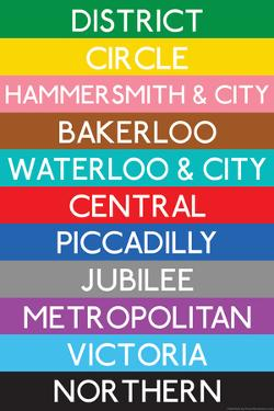 London Underground Tube Lines Travel