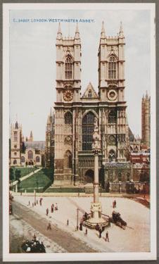 London, West Minster Abbey