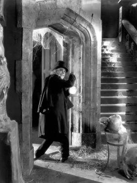 Londres apres minuit LONDON AFTER MIDNIGHT by TodBrowning with Lon Chaney, 1927 (b/w photo)