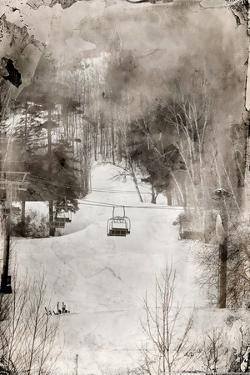 Lone Ski Lift Wet Plate