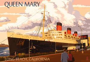 Long Beach, California - Queen Mary