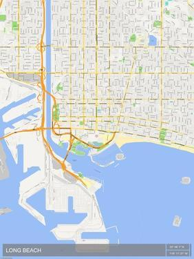 Long Beach, United States of America Map
