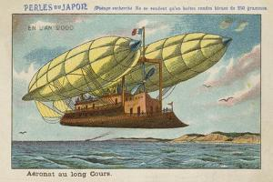 Long Distance Airship in the Year 2000