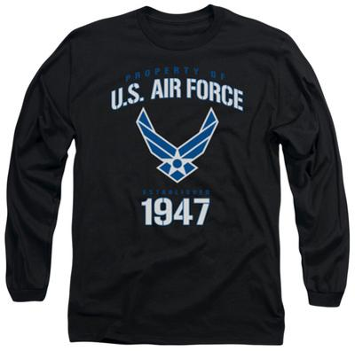 Long Sleeve: Air Force - Property Of
