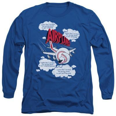 Long Sleeve: Airplane - Picked The Wrong Day