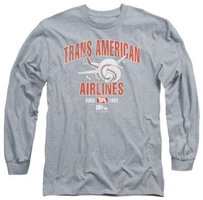 Long Sleeve: Airplane - Trans American