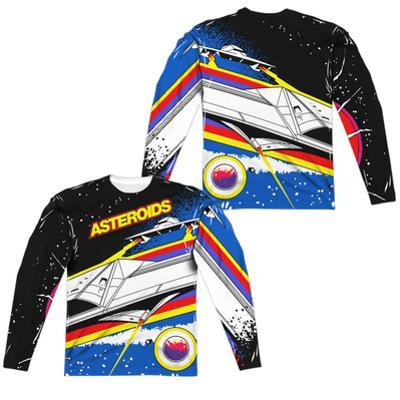 Long Sleeve: Atari: Asteroids- Space Flight (Front/Back)