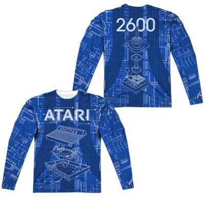 Long Sleeve: Atari- Game Machine (Front/Back)