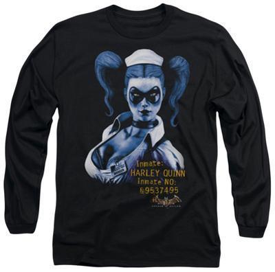 Long Sleeve: Batman Arkham Asylum - Arkham Harley Quinn