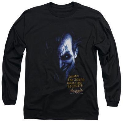 Long Sleeve: Batman Arkham Asylum - Arkham Joker