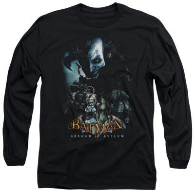 Long Sleeve: Batman Arkham Asylum - Five Against One
