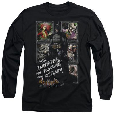 Long Sleeve: Batman Arkham Asylum - Running The Asylum