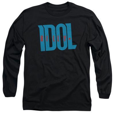 Long Sleeve: Billy Idol- Logo