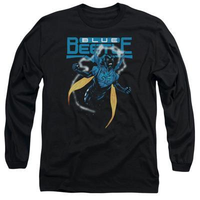 Long Sleeve: Blue Beetle- Fierce Flight