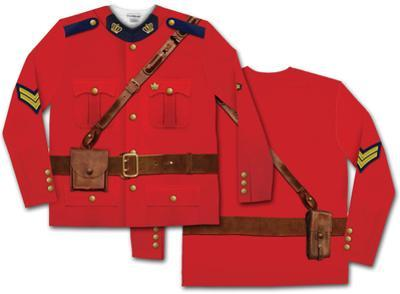 Long Sleeve: Canadian Mountie Tee