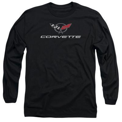 Long Sleeve: Chevy- Modern Corvette Logo
