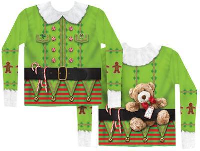 Long Sleeve: Christmas Elf Costume Tee