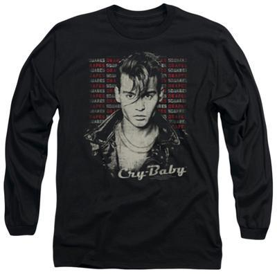 Long Sleeve: Cry Baby - Drapes & Squares