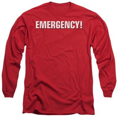 Long Sleeve: Emergency - Logo
