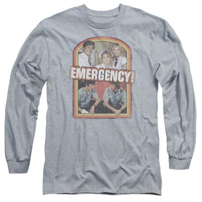 Long Sleeve: Emergency - Retro Cast
