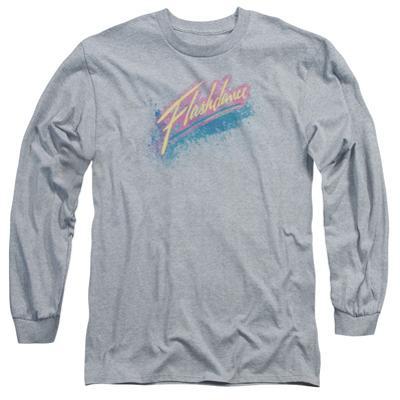 Long Sleeve: Flashdance - Spray Logo