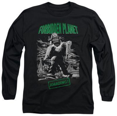 Long Sleeve: Forbidden Planet - Robot Poster