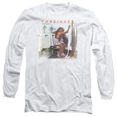 Long Sleeve: Foreigner- Head Games Album Cover
