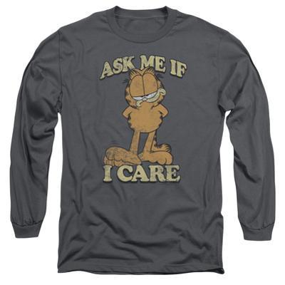 Long Sleeve: Garfield - Ask Me