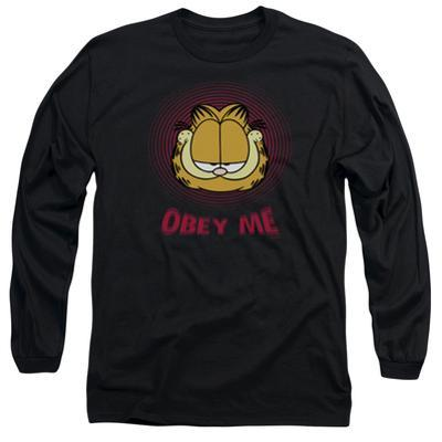 Long Sleeve: Garfield - Obey Me