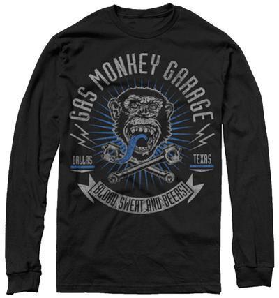 Long Sleeve: Gas Monkey- Xreset Garage