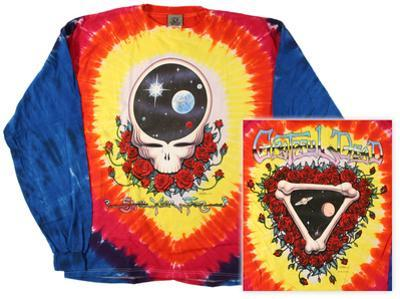 Long Sleeve: Grateful Dead - Space Your Face