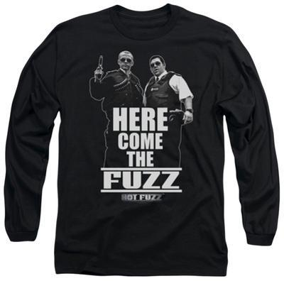 Long Sleeve: Hot Fuzz - Here Come The Fuzz