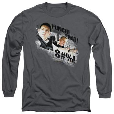 Long Sleeve: Hot Fuzz - Punch That
