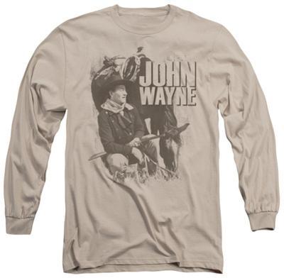Long Sleeve: John Wayne - In The West