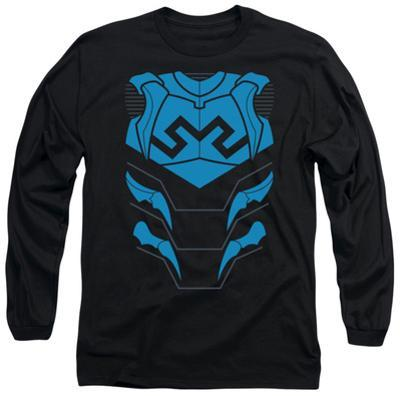 Long Sleeve: Justice League - Blue Beetle Costume Tee