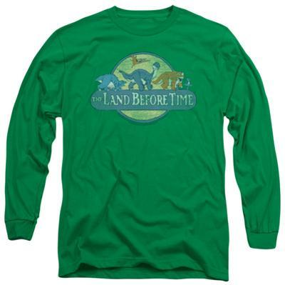 Long Sleeve: Land Before Time - Retro Logo