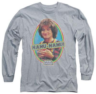 Long Sleeve: Mork & Mindy - Nanu Nanu